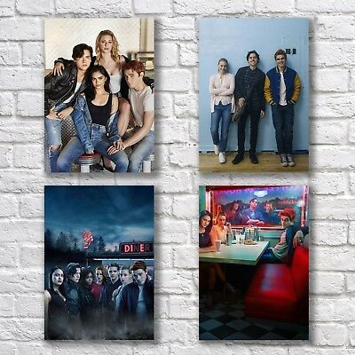 Riverdale Poster A4 NEW Set TV Show Series KJ Apa Cole Sprouse Sexy Hunks #1