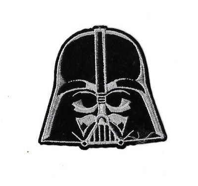 DARTH VADER Iron on / Sew on Patch Embroidered Badge Motif Movie Star Wars PT402
