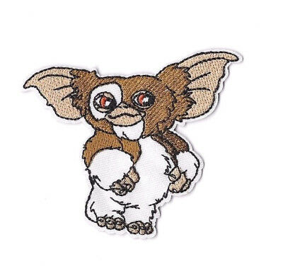 GIZMO Iron on / Sew on Patch Embroidered Badge Motif Movie Gremlins PT147
