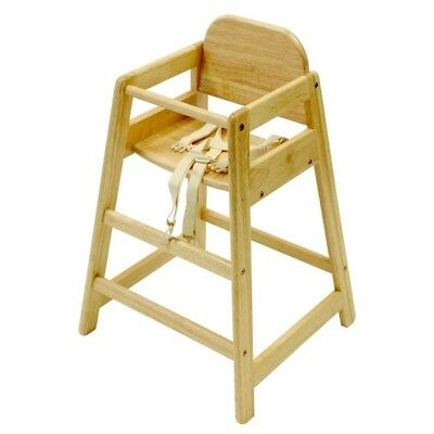 East Coast Cafe Wooden Highchair *RRP £49.99* *NOW £24.99* HALF PRICE !