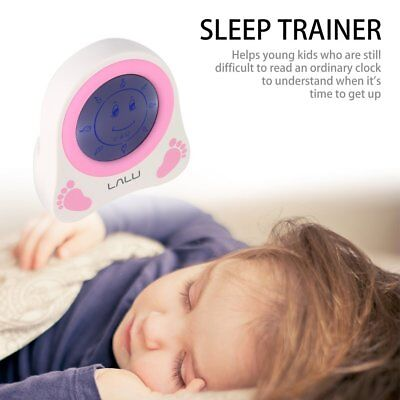 LALU Chidlren Sleep Trainer Simulation of Diurnal Change Graphic Clock Alarm TGR