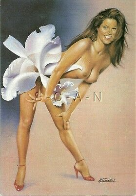 Original 1990s French Pinup PC- Limited Edition #299- Artistic- Michel Gourdon
