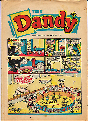 DANDY # 1459 November 8th 1969 The comic Fireworks issue