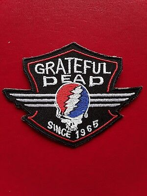 Grateful Dead American Classic Rock N Roll Music Band Embroidered Patch Uk