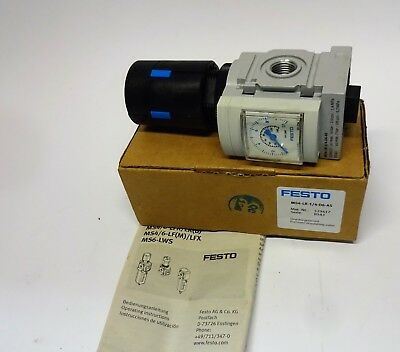 FESTO MS4-LR-1/4-D6-AS Druckregelventil G1/4 529417  pressure regulating valve