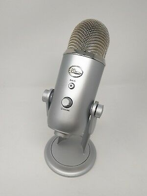 Blue Microphones Yeti , Professional USB Condenser Microphone - Sliver