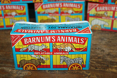 1985 Nabisco Barnum's Inflatable Animals New in Box Frenry Co. Unopened Walrus