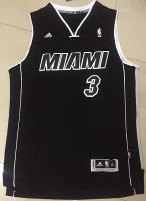low priced cce4c ae675 BLACK COLOR DWYANE Wade Miami Heat #3 Jersey