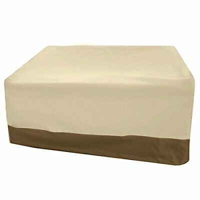 Vanteriam Waterproof Bench/Loveseat Cover, Large Outdoor Furniture Covers for