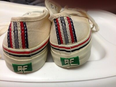 """Converse and Posture Foundation """"SANDLOT"""" Canvas Shoes, from 1972, size 1 1/2"""