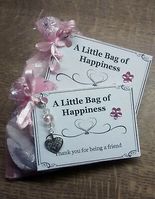 little bag of happiness thank you for being a friend various
