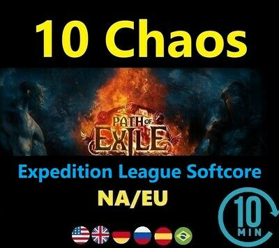 10 Chaos Orb - SYNTHESIS League Softcore ( Path of Exile EU/NA POE )  SC 10c