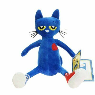 Pete the Cat Plush Doll 14.5 inches New Stuffed Animals & Plush Children Toys GT