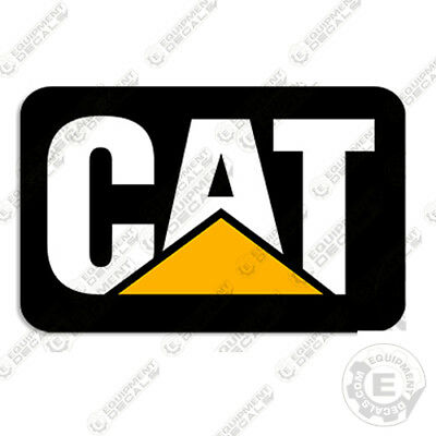 Caterpillar Skid Steer Rear Door Decal