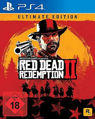 Red Dead Redemption 2 Ultimate Steelbook Edition | PS4 | NEU & OVP | UNCUT |