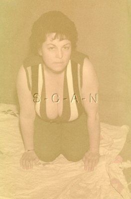 1950s-60s Semi Nude Amatore 35mm per Slide / Negative- Super Endowed Ispanica