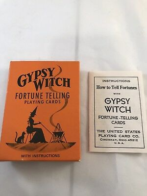 Gypsy Witch Fortune Telling Playing Cards Divination Cartomancy Card Games