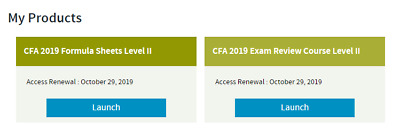 wiley cfa level 2 self study package subscription