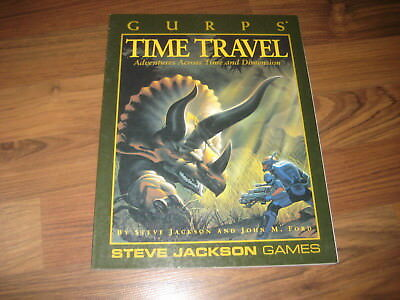 GURPS 3rd Edition Time Travel Adventures Across Time and Dimension SJG 1995 VG