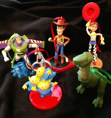 Toy Story Christmas Ornaments.Disney Toy Story Christmas Ornament Set Woody Jesse Alien Buzz Rex Classic