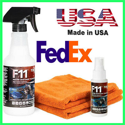 TOPCOAT F11 16oz MASTER CRAFTSMAN F11 POLISH & SEALER WEB SPECIAL KITS NEW.CAR A