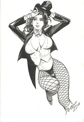 Zatanna by Mr. Not Two One