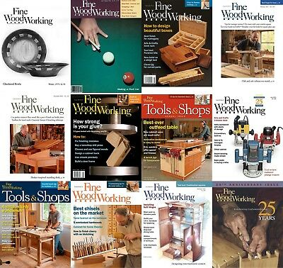 Fine Woodworking - HUGE Magazine's Archives DVD (270+ Issues) PDF's Wood Popular