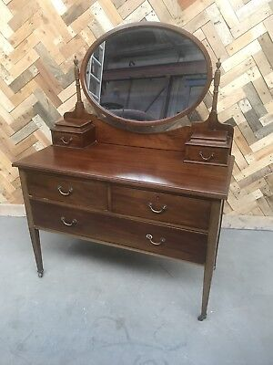 Vintage Inlaid Dressing Table