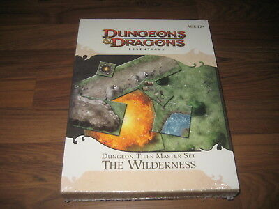 D&D 4th Dungeon Tiles Essenstials Master Set The Wilderness New Sealed WotC