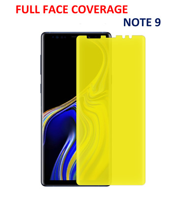 Full Face Coverage Clear (TPU) Screen Protector Film For Samsung Galaxy Note 9