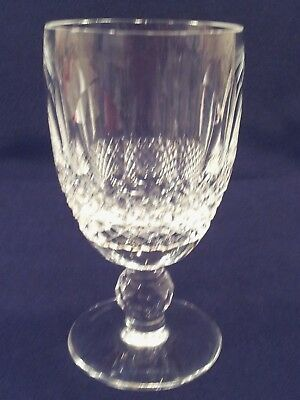 "Waterford Crystal Colleen Short Stem Claret Wine Glass 4 3/4"" excellent"