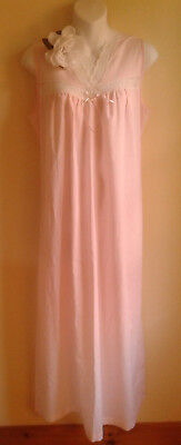 Vintage Cotton Nightgown Luv Lee Canada Pink Cotton Summer
