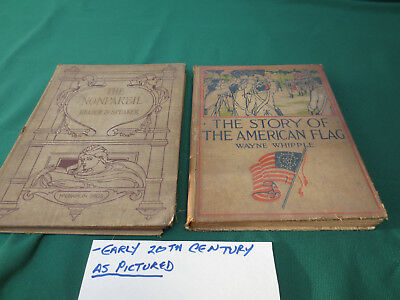 Antique/vintage  The Story Of The American Flag By Wayne Whipple Hardback +