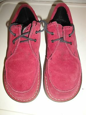 low priced baaac 284d6 DR MARTENS Burgundy Suede Masha Boots Size UK 7 - EUR 90,42 ...