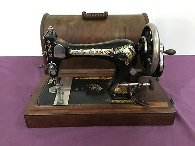 Singer Hand Sewing Machine, Late 1800's
