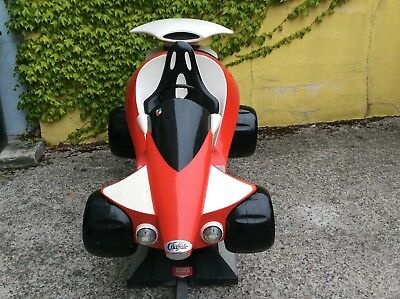 Kiddy Ride Space Car EMT Made in Germany Deluxe Edition