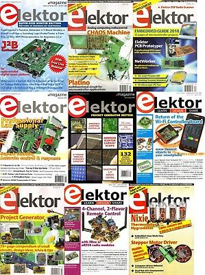 Elektor Electronics Magazine's Huge Archive (2 DVDs) 330+ Issues & Extras Pdf's