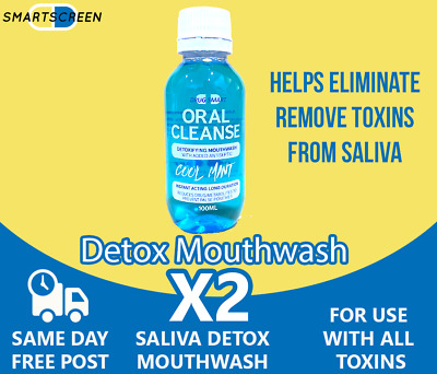 Drug Detox Mouthwash - Saliva Drug Test Cleanse  100ml Best Value