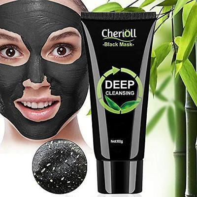 Charcoal Face Mud Black Mask,Blackhead Remover Mask,Deep Cleansing Peel off Mask