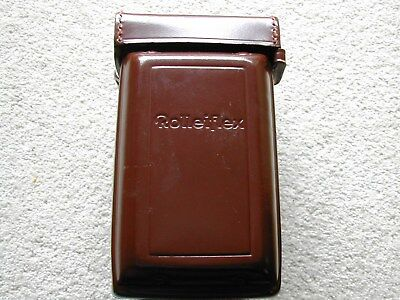 twin lens reflex Rolleiflex  leather case for T or 3.5