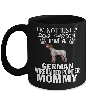 German Wirehaired Pointer dog,Deutsch Drahthaar,Vorstehhund,Drahthaar,Coffee Mug