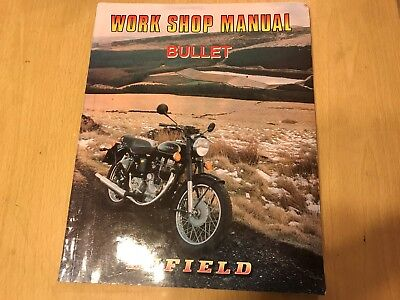 Royal Enfield 350 & 500 Bullet Motorcycle Workshop Manual