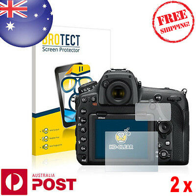 2x BROTECT® HD-Clear Screen Protector for Nikon D850 - P032AF