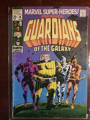 Marvel Super Heroes Presents #18 1st App Guardians Of The Galaxy VG