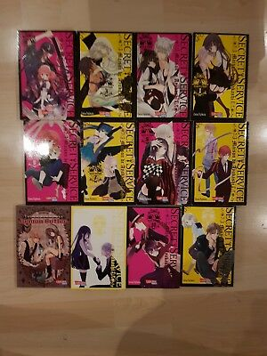 Inu Boku SS Secret Service Carlsen Manga 1-11 Romance Lady and her demon Butler