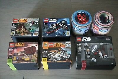 Lego Star Wars Sdcc Celebration Boba Maul Dagobah Tatooine Ghost Jek Detention