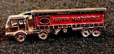 Esso Exxon Happy Motoring  Truck Tie Bar Clip Clasp Gas