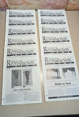 1998 Antique & Collectors Reproduction News Full Year report Fakes Reproductions