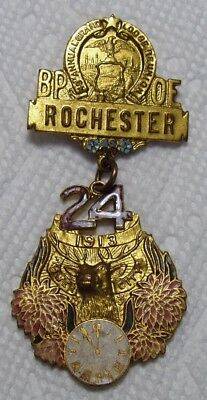 1913 Rochester, NY Elks, BPOE Grand Lodge Reunion Medal.