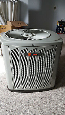 NEW Trane 3.5 ton 3 phase central air conditioning R22 condenser with A coil